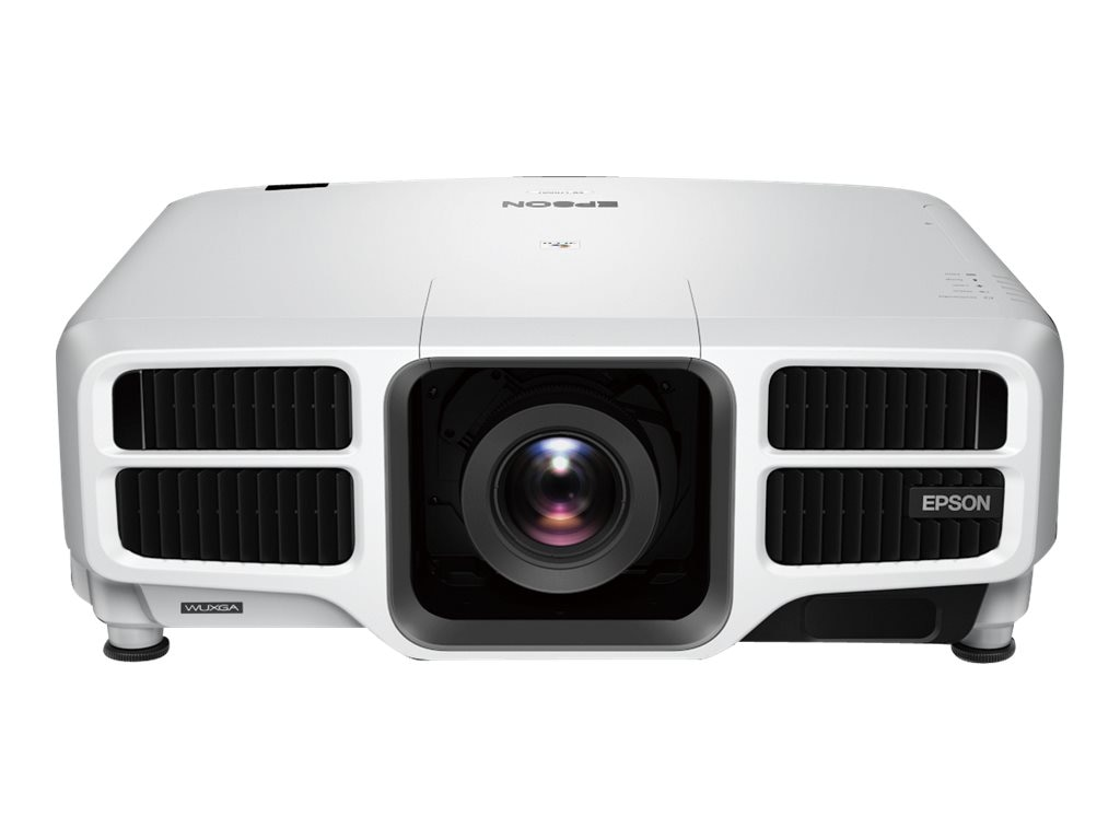 Epson Pro L1100U Laser WUXGA 3LCD Projector with Standard Lens, 6000 Lumens, White, V11H735020