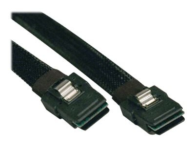 Tripp Lite Internal SAS Cable, SFF-8087 to SFF-8087, Black, 3ft, S506-003, 8604917, Cables