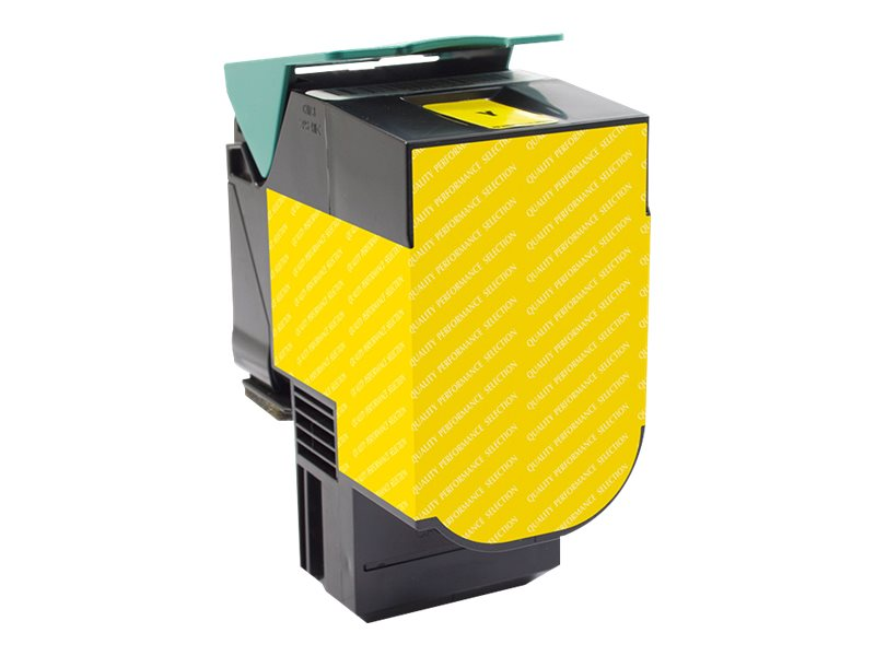V7 C540H1YG Yellow Toner Cartridge for Lexmark, V7C540H1YG