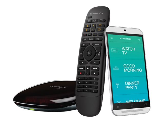 Logitech Harmony Companion, Black, 915-000239, 31938000, Home Automation