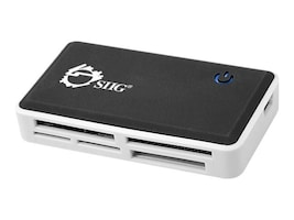 Siig USB 2.0 Multi Card Reader, JU-MR0C12-S1, 13699421, PC Card/Flash Memory Readers