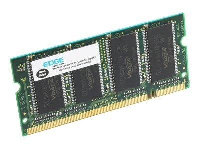 Edge 512MB PC2700 333MHz DDR SDRAM SODIMM for Select Phaser Models, PE207021, 7433247, Memory