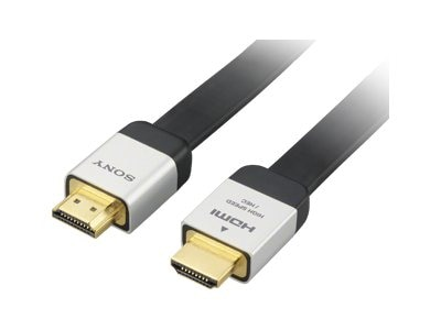 Sony Flat HDMI Cable, 3m, DLCHJ31HF, 14701609, Cables