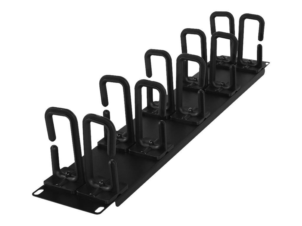 CyberPower Carbon Rack Cable Management 2U Flexible Ring Cable Manager, CRA30006