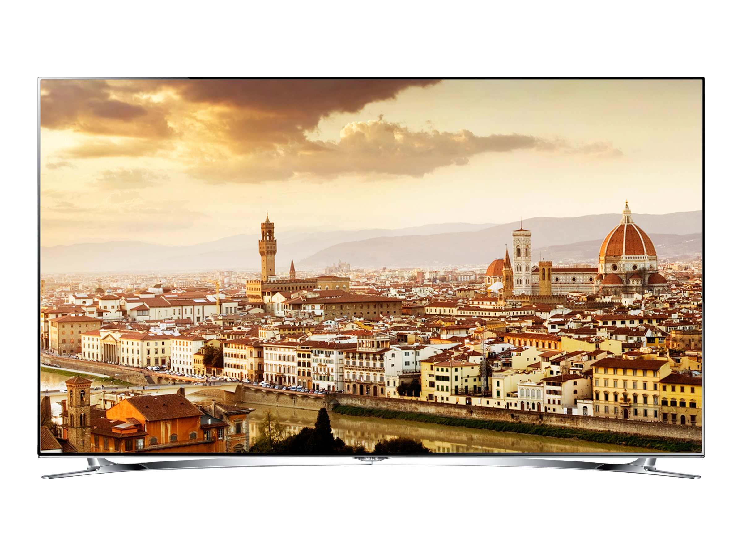"Samsung 46"" 890 Series Edge-Lit Ultra-Thin LED Hospitality TV, Black, HG46NB890XFXZA, 16418014, Televisions - LED-LCD Commercial"
