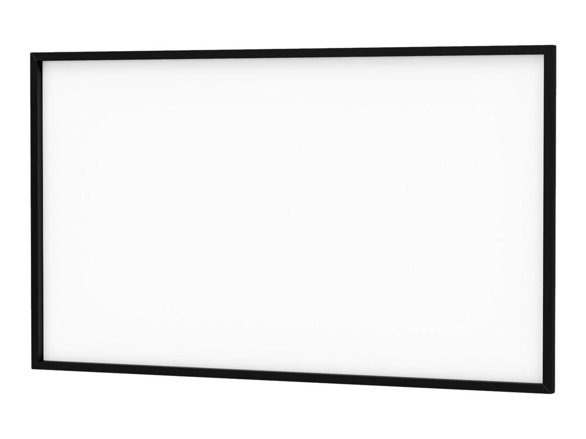 Da-Lite Da-Snap Projection Screen with Pro-Trim Frame, Da-Mat, 16:10, 109