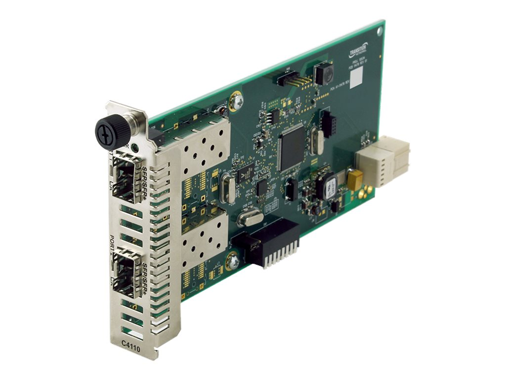 Transition Multi-Rate Fiber To Fiber Repeater, C4110-4848, 18817043, Network Transceivers