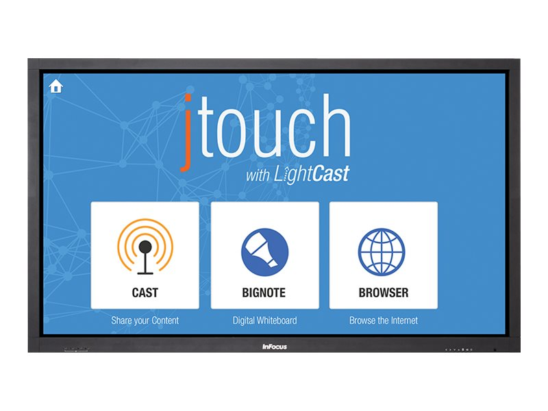 InFocus 65 JTouch Full HD Interactive Whiteboard Display with LightCast