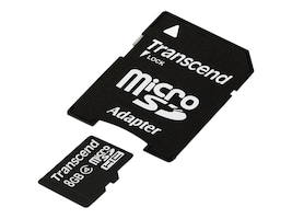 Transcend 8GB Micro SDHC Card, TS8GUSDHC4, 13471611, Memory - Flash