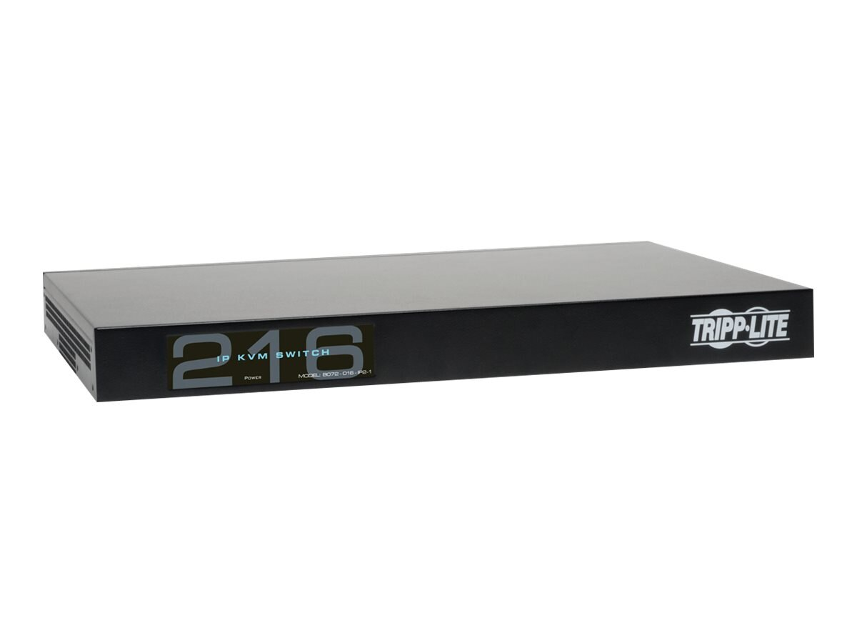 Tripp Lite 2+1 User NetCommander 16-Port Cat5 IP KVM Switch, Instant Rebate - Save $30, B072-016-IP2