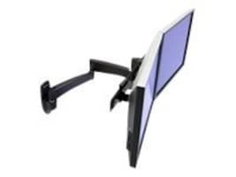 Ergotron 200 Series Dual Monitor Arm Mount, Black, 45-231-200, 9643424, Stands & Mounts - AV