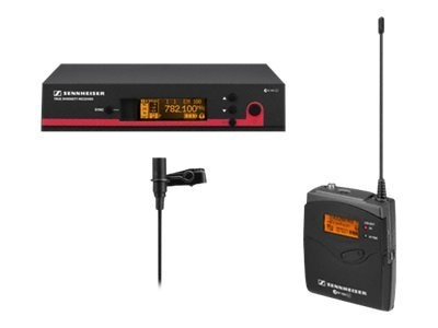 Sennheiser EW112 G3 Wireless Bodypack Microphone System with ME2 Lavalier Mic, EW112G3-B, 10158135, Microphones & Accessories