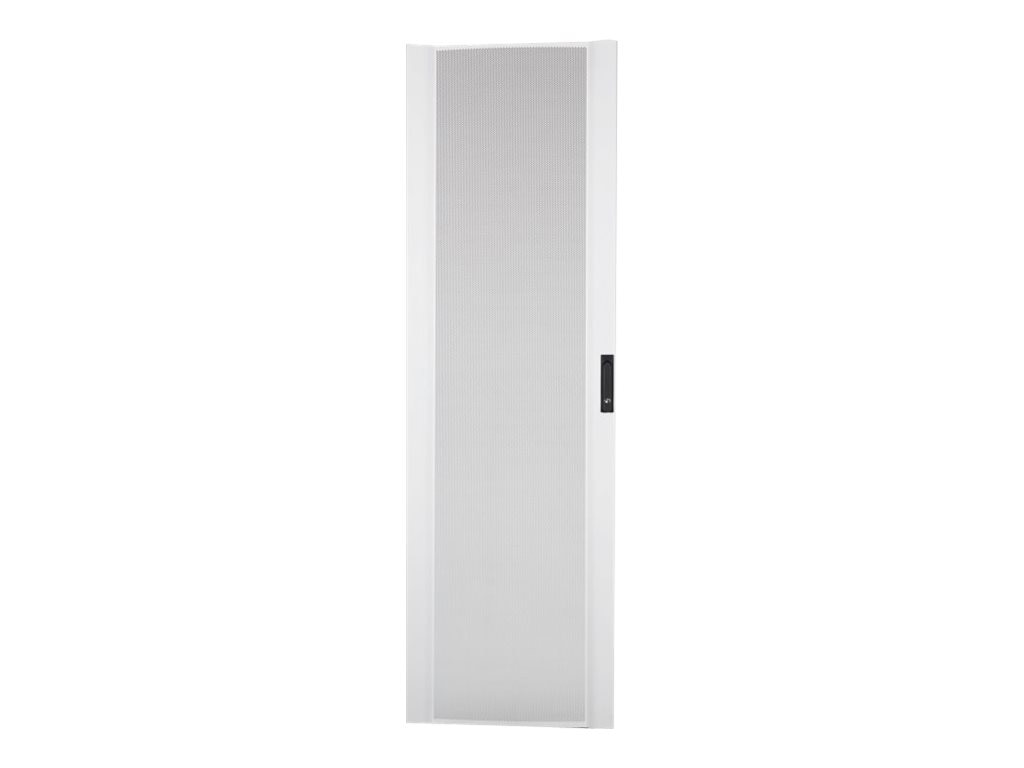 APC NetShelter SX 42U 600mm Wide Perforated Curved Door, White, AR7000AW