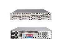 Supermicro Barebones A+ Server AS-2021M-32RB 2U AMD Opteron, Max. 32GB, 8xSAS, H8DM3-2, 700W RPS, Black, AS-2021M-32RB, 7485776, Barebones Systems