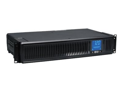 Tripp Lite Smart LCD 1500VA 900W 2U Rack Tower Line-Interactive 120V UPS, Expandable Runtime, USB Serial, SMART1500LCDXL