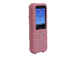 Zcover Printed Silicone w LP Clip, Pink, Dock-in-case for Cisco 8821 8821-EX, CI821PUP, 33175755, VoIP Accessories