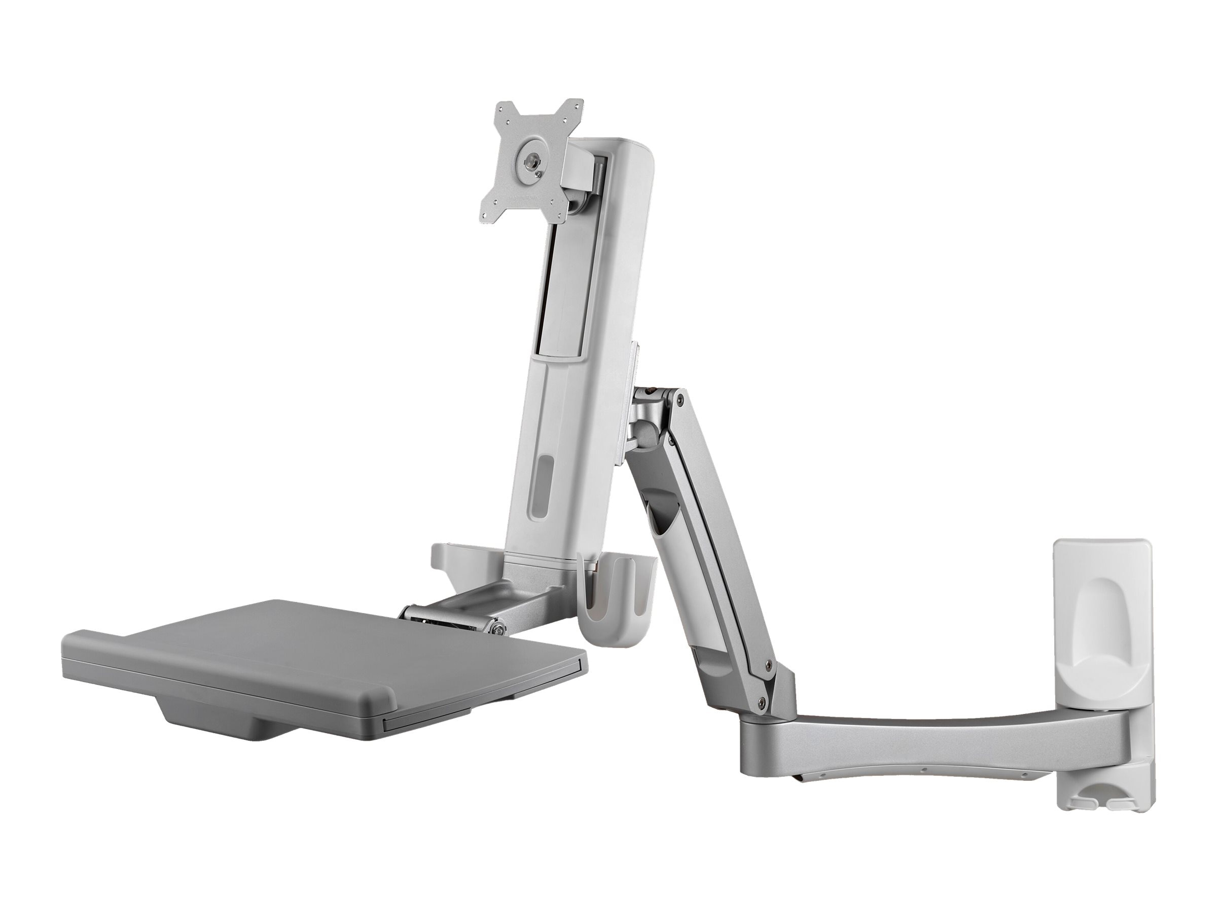 Atdec Wall Mounted Sit-to-stand Workstation, A-STSWW, 31639333, Stands & Mounts - AV