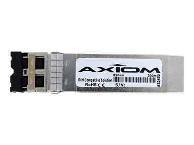 Axiom 10GBASE-SR SFP+ Transceiver for Cisco, ONSSC10GSR-AX, 26837378, Network Transceivers