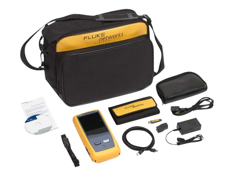 Fluke OneTouch AT Network Assistant with Copper Fiber LAN Option, 1T-1000, 14443101, Network Test Equipment