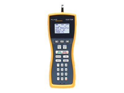 Fluke TS53 Pro LCD Button Test Set Plus TDR, 4mm, Banana and X-Large Alligator Clips, TS54-BANA