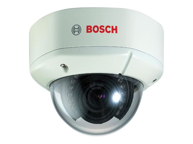 Bosch Security Systems Outdoor IR True Day Night Dome Camera, 3.8-9.5mm Lens