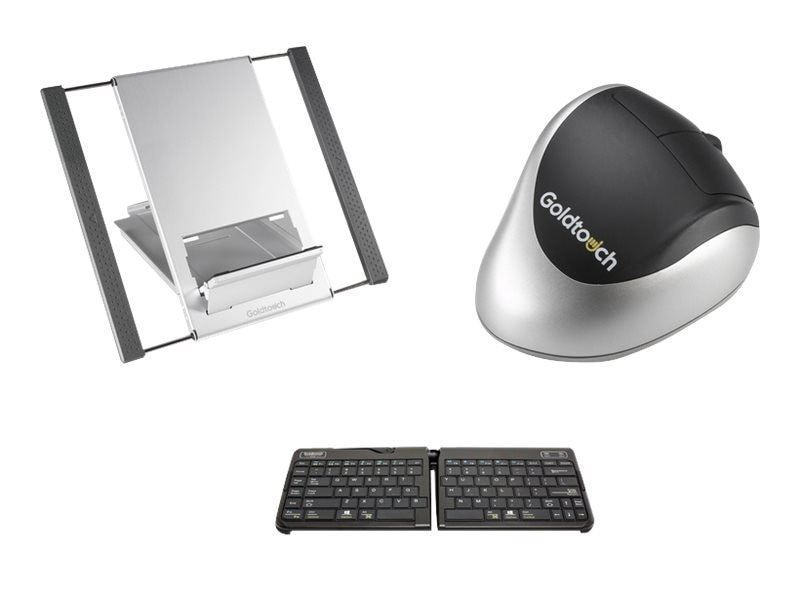 Goldtouch Bluetooth Mobile Keyboard, Mouse and Stand