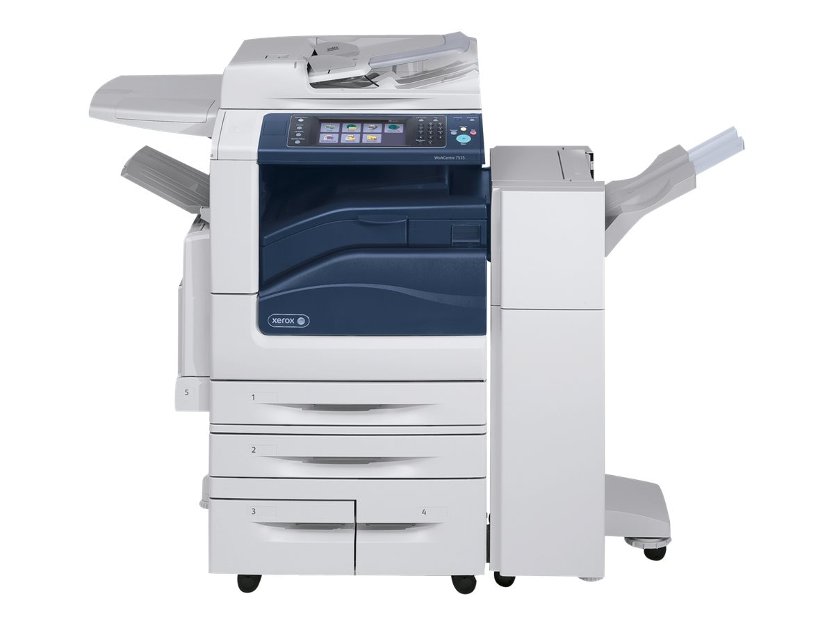 Xerox WC7535 Multifunction Printer w  (3) Trays, W7535/3T
