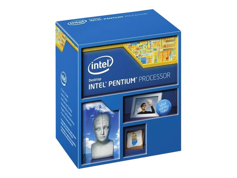 Intel Processor, Pentium DC G3258 3.2GHz 3MB 53W, Box, BX80646G3258