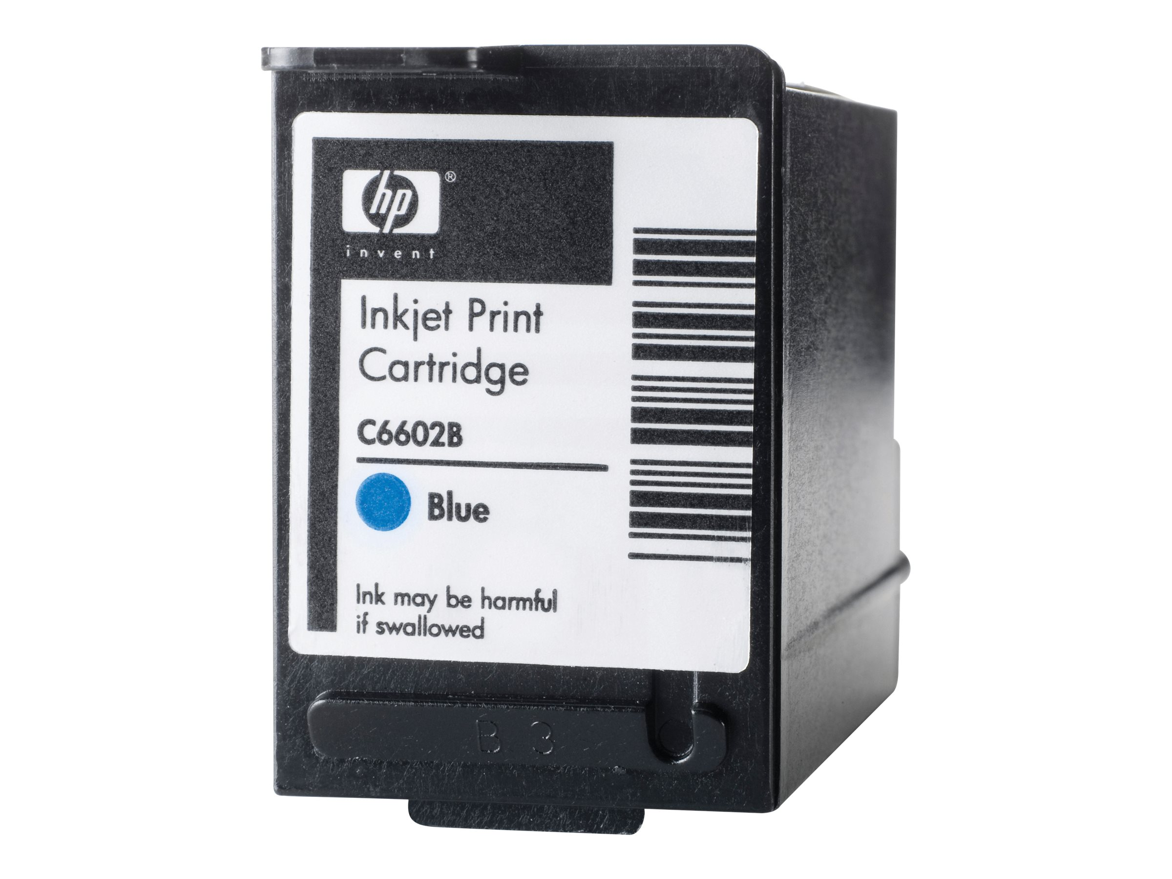 HP Blue Generic Reduced Height Ink Cartridge, C6602B