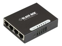 Black Box USB-Powered Gigabit 4-Port Switch, LGB304A, 15472537, Network Switches