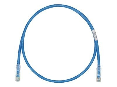Panduit CAT6 UTP Copper Patch Cable, Blue, 9ft