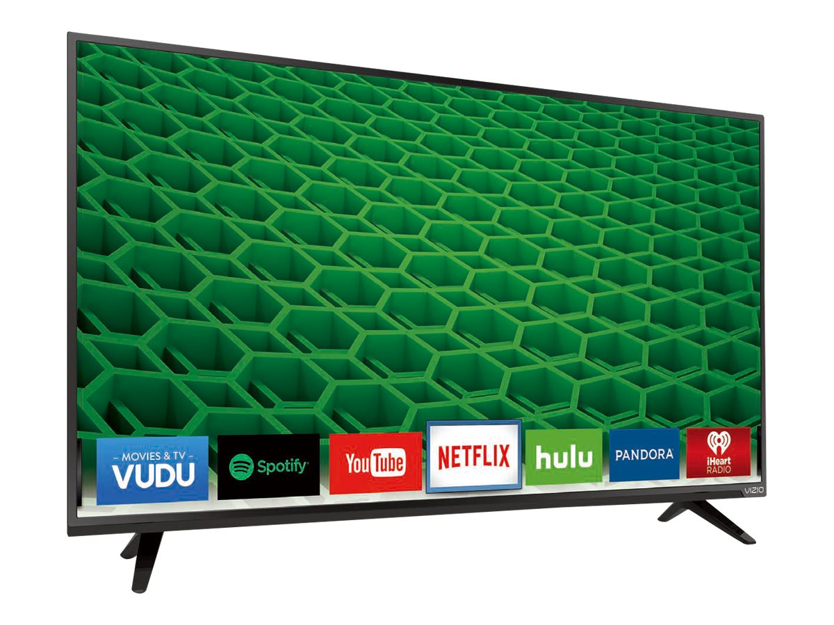 Vizio 55 D55-D2 LED-LCD Smart TV, Black
