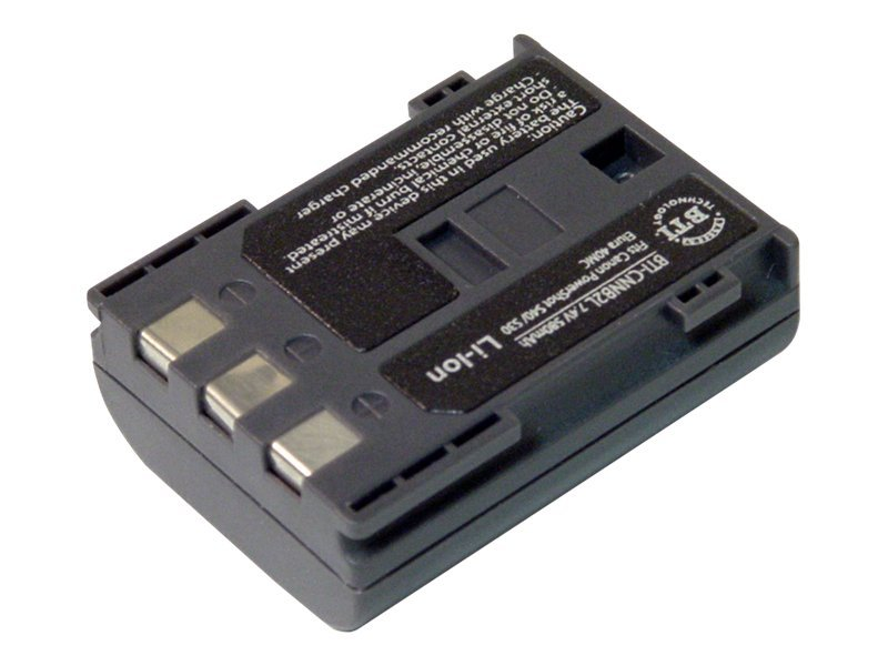 BTI Battery, 7.4V, 550mAh, for Canon OPTURA 30, POWERSHOT S40, S45, S50, CNNB2L, 7926447, Batteries - Camera
