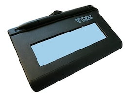Topaz SignatureGem 1 x 5 LCD, Full HID Interactive, USB Interface, T-L462-HSB-R, 431002, Signature Capture Devices