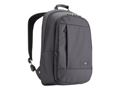 Case Logic 15.6 Laptop Backpack, Gray, MLBP-115GRAY, 13707494, Carrying Cases - Notebook