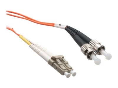 Axiom LC-ST 62.5 125 OM1 Multimode Duplex Fiber Cable, 2m, AXG92632