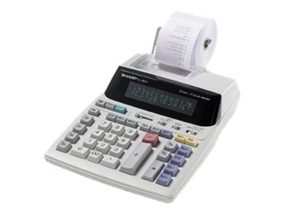 Sharp EL1801V 12-Digit LPS Serial Printer Calculator