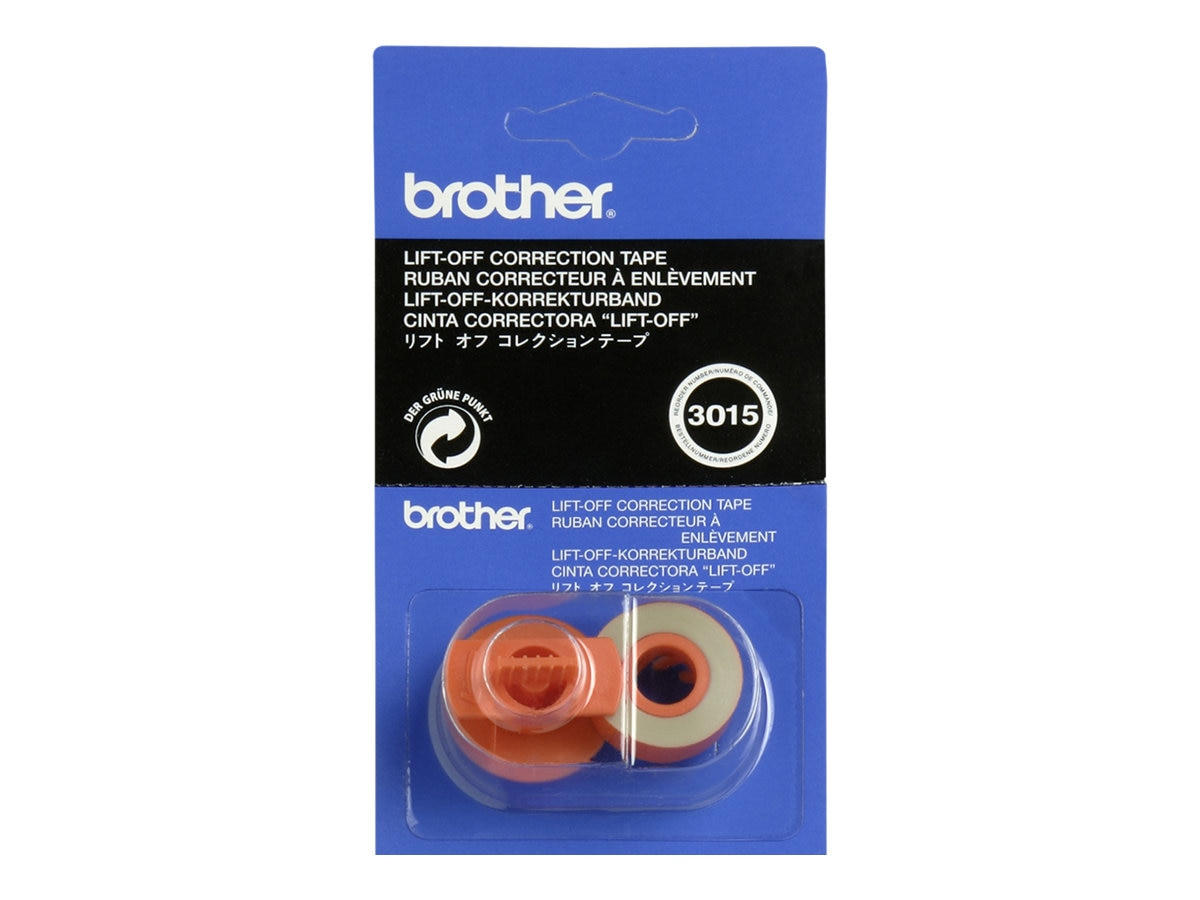 Brother 3015 Lift-Off Correction Tape, 6-pack, 3015, 446021, Typewriters and Accessories