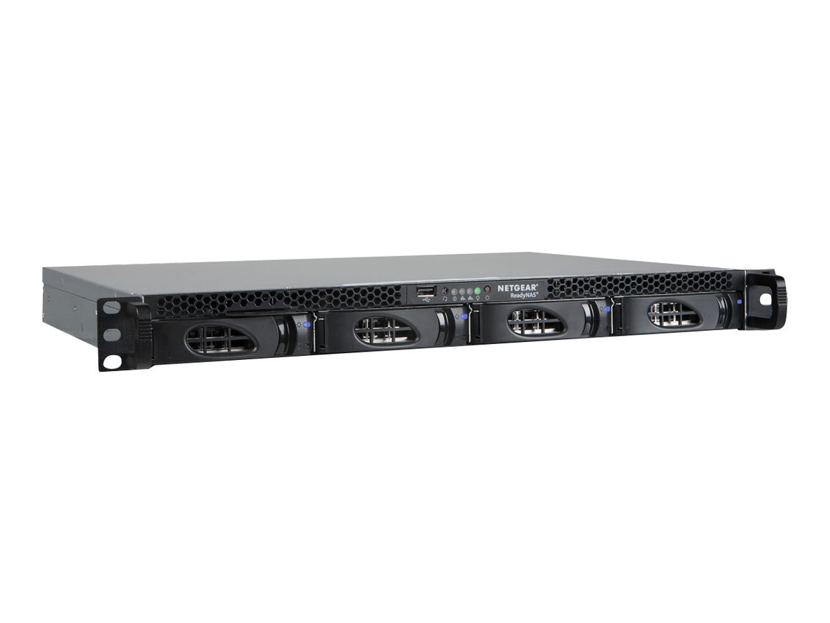 Netgear 4TB ReadyNAS 2120 Rackmount NAS w  (4) 1TB Enterprise Hard Drives