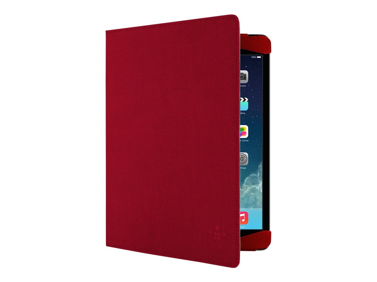 Belkin Classic Strap Cover for iPad Air, Rose, F7N053B1C01, 16648151, Carrying Cases - Tablets & eReaders