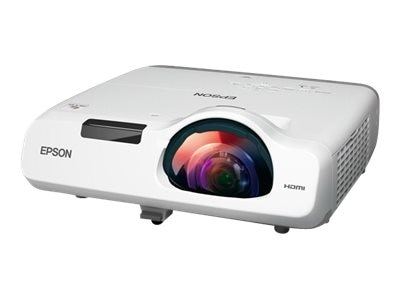 Epson PowerLite 520 XGA 3LCD Projector, 2700 Lumens, White, V11H674020, 18101213, Projectors