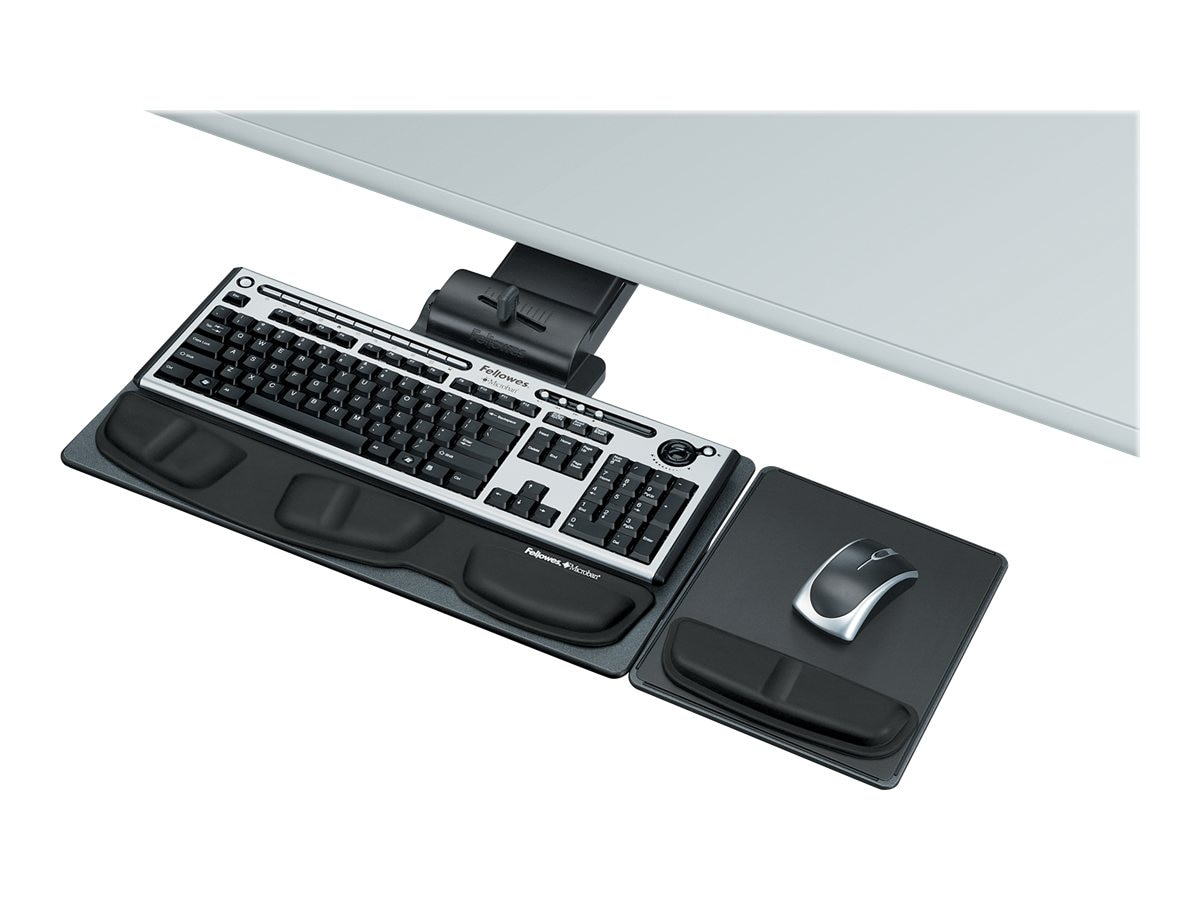 Fellowes Professional Series Executive Keyboard Tray, Mouse Platform