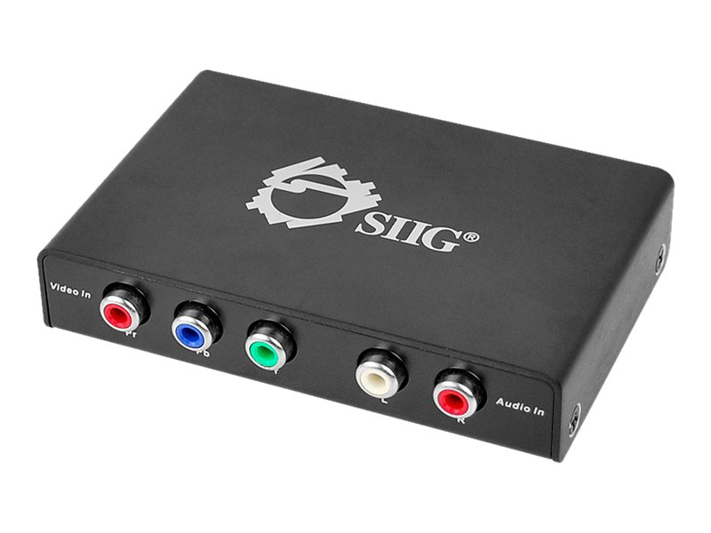 Siig Component AV to HDMI Converter