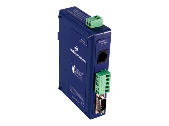 B&B Electronics Ethernet to Serial Servers, VESR901, 13330762, Network Adapters & NICs