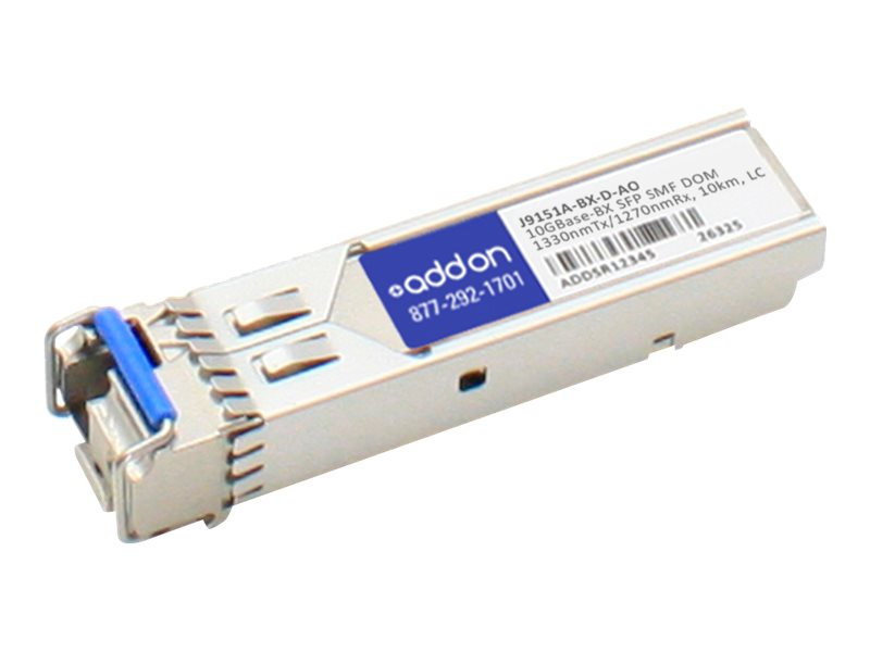 ACP-EP 10km SFP+ BX LC PERP XCVR BIDI DOM SMF LC Transceiver for HP