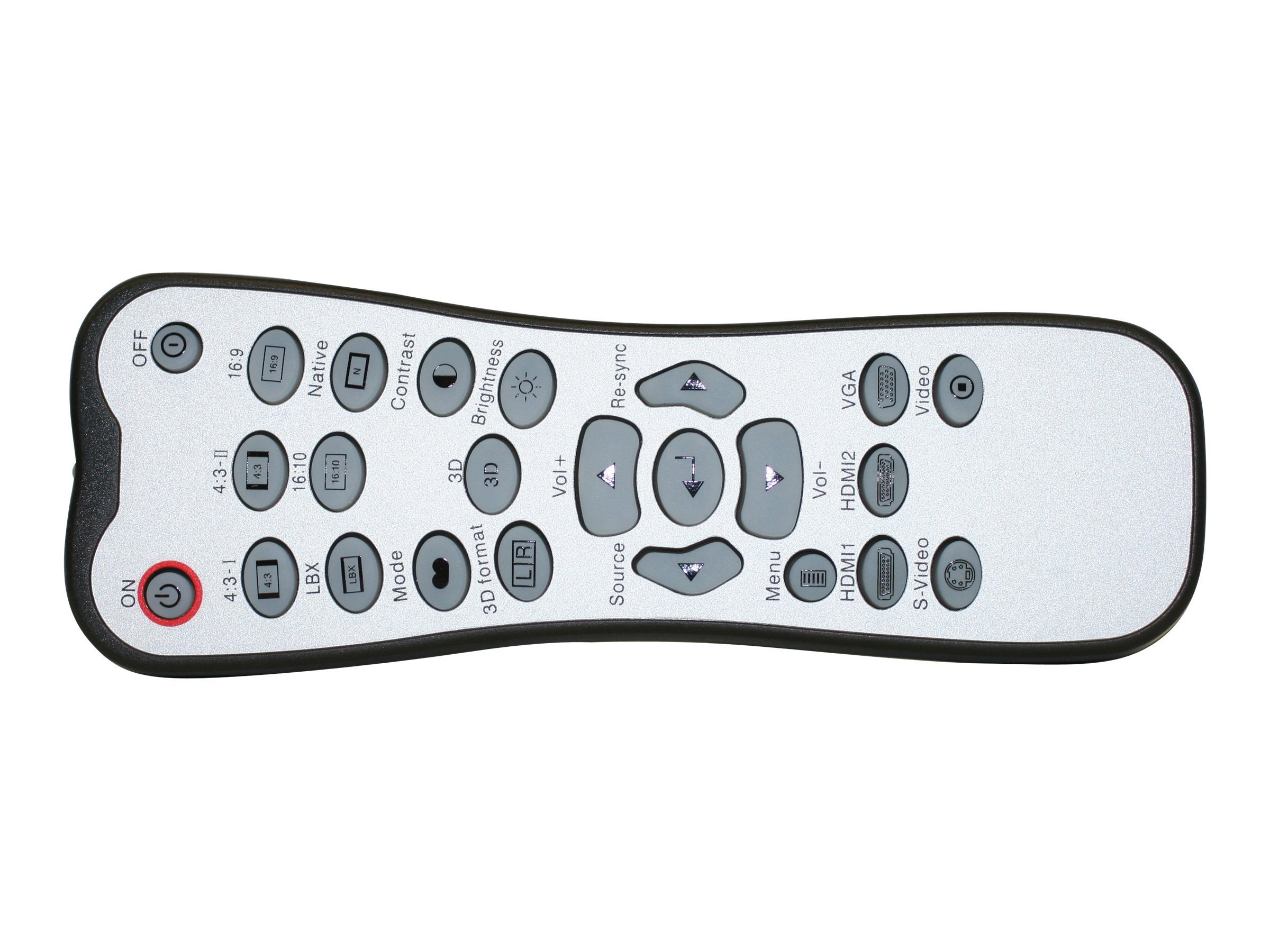 Optoma Remote Control for GT750, SGT750E Projectors, BR-3059N, 13373383, Projector Accessories