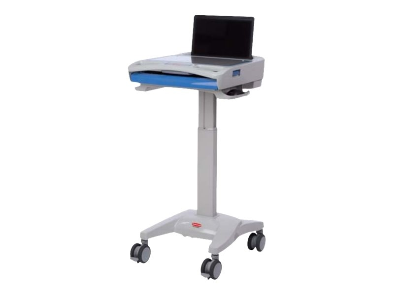 Rubbermaid M4000LM00 Laptop Cart, 1854484