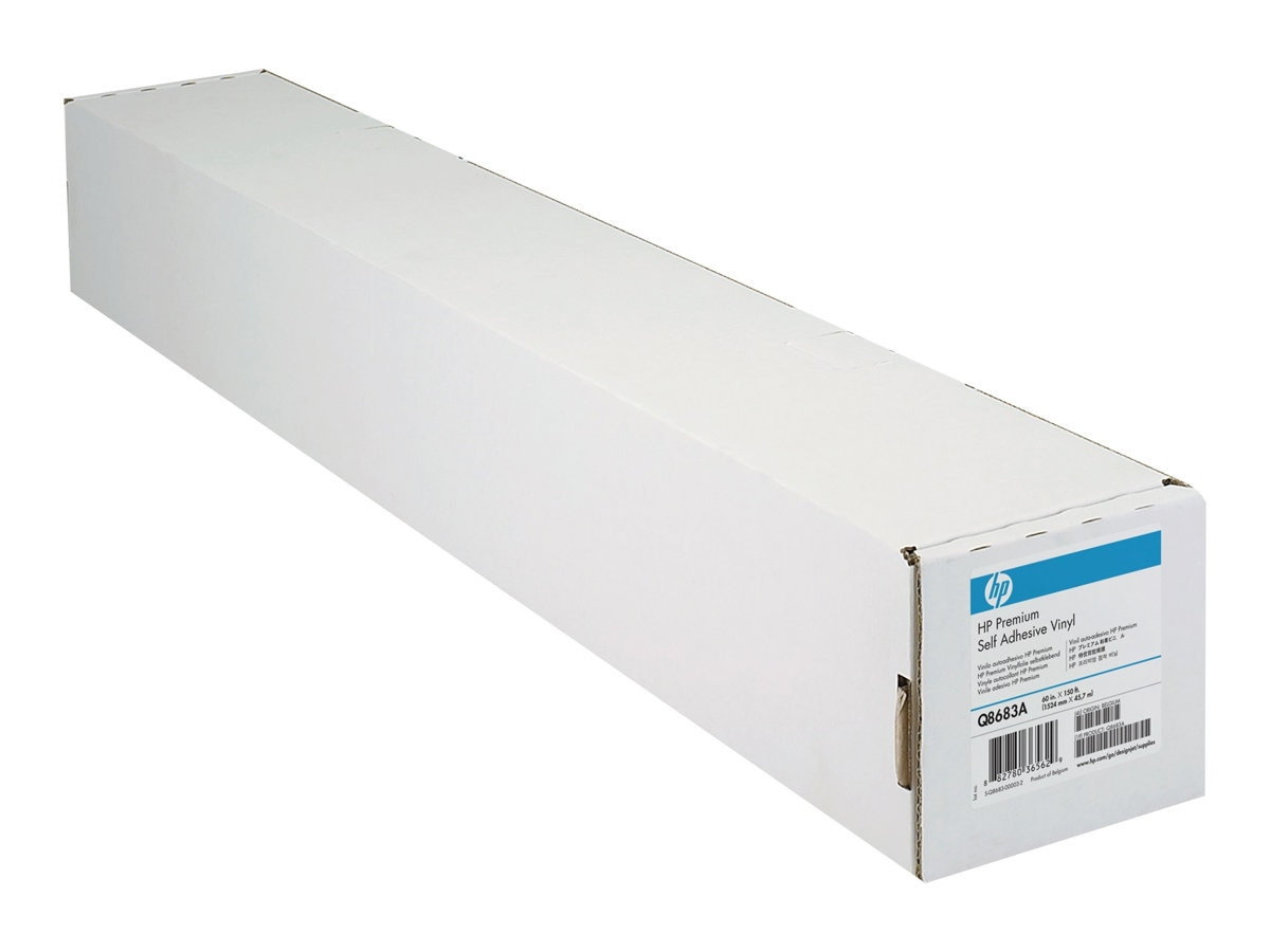 HP 54 x 40' ColorFast Adhesive Vinyl Rolls (2-pack), C0F09A, 15532739, Paper, Labels & Other Print Media