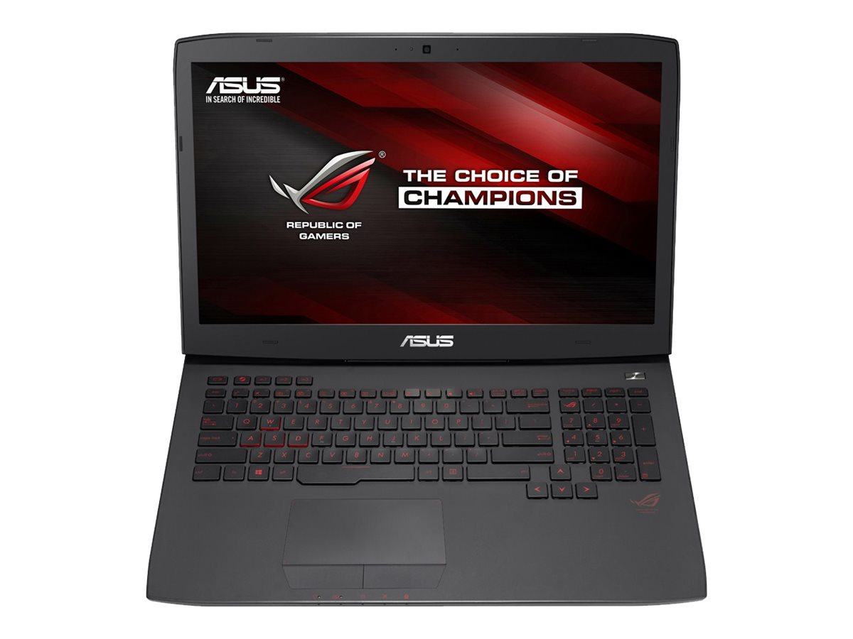 Asus G751JT-WH71 Notebook PC Core i7-4710HQ 2.6GHz GTX 970 W8.1, G751JT-WH71(WX)