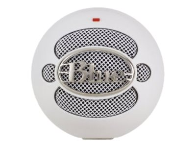 Blue Microphones Blue Snowball USB Mic, White